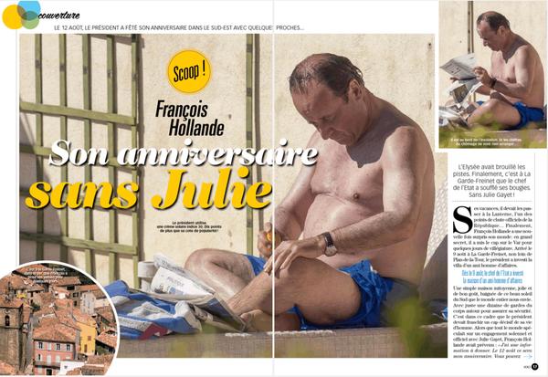 François Hollande En Vacances Entre Commémorations Et Humiliations | ZEBUZZEO