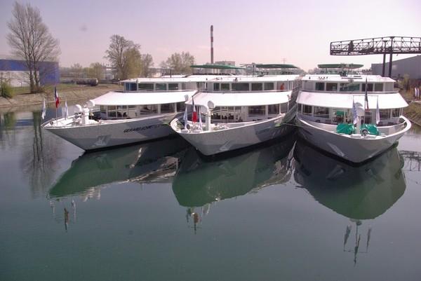 Les réalisations du chantier naval Meuse et Sambre
