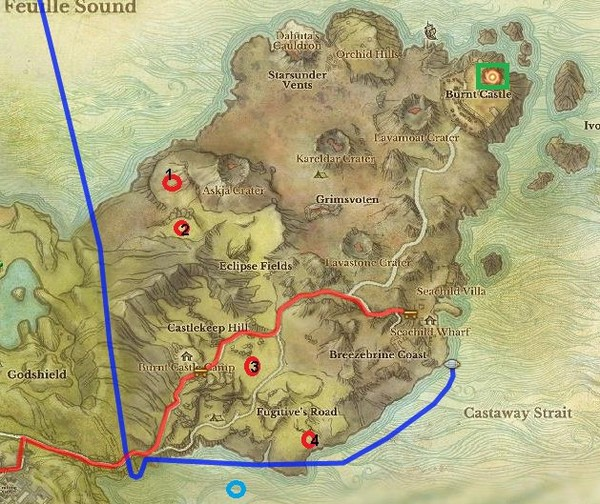 Housing Zones of Solzreed Peninsula and Cinderstone Moor for ArcheAge Gold in Nuia
