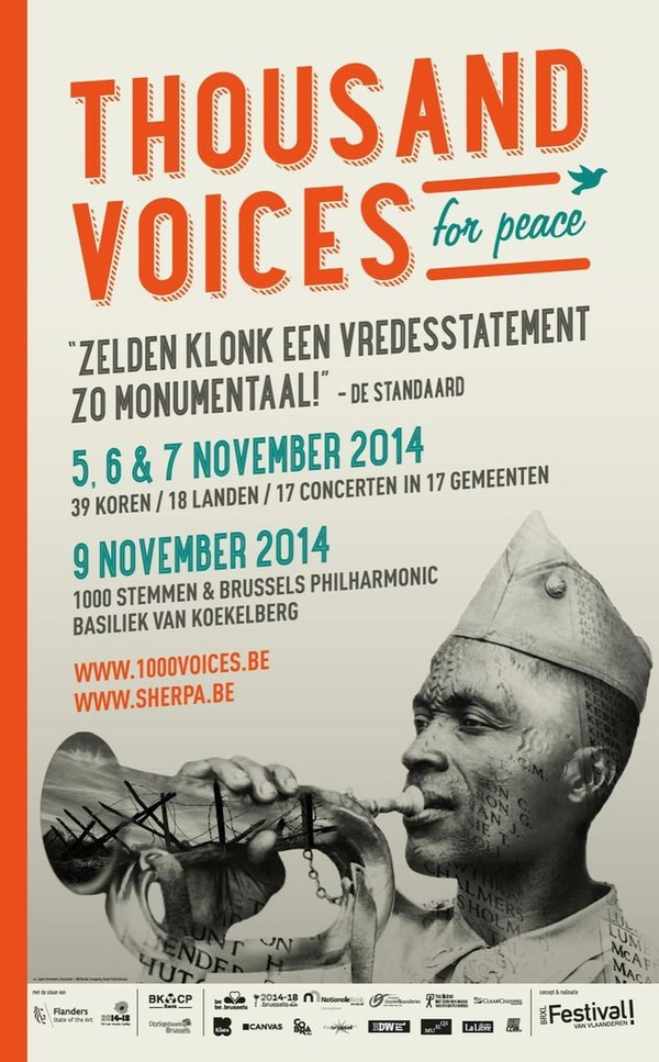 "Un oratorio pour la paix à Koekelberg : ""1000 Voices for Peace"" - Last night in Orient"