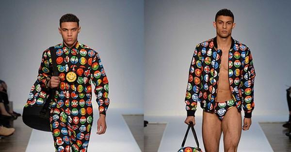 Le jogging à motif Emoji, vêtement de l'année 2015 ? - TÊTU