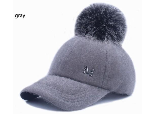 [YARBUU] New brand baseball caps 2017 winter cap for women