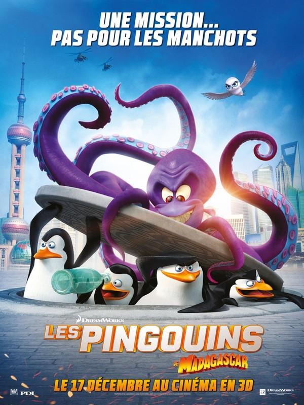 Les Pingouins de Madagascar (2014) [HD]