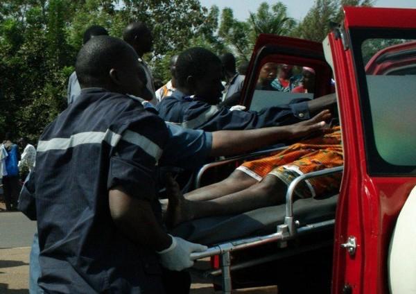 Bignona : 6 morts et 55 blessés dans un accident de bus