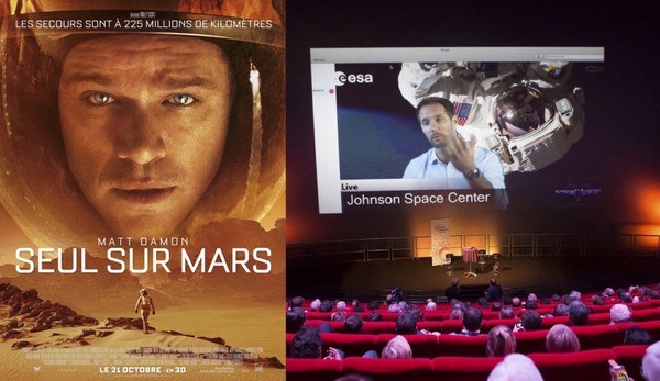 Seul sur Mars : science et science-fiction