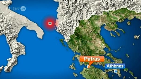 Le naufrage du ferry au large de la Grèce du 28 décembre 2014, info : RTBF Vidéo
