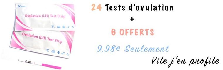 trouver un test de grossesse fiable et à petit prix, avec une livraison express
