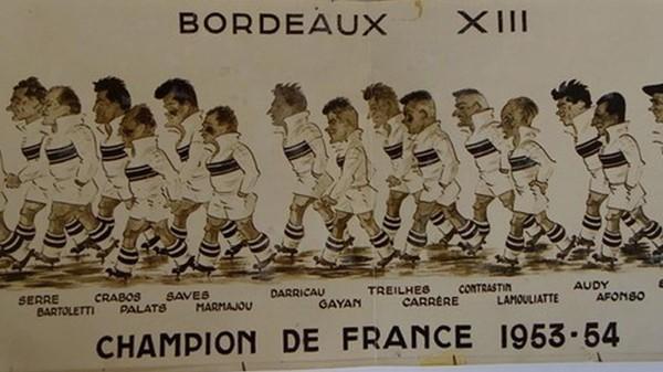 Bordeaux, le premier grand bastion de Province treiziste