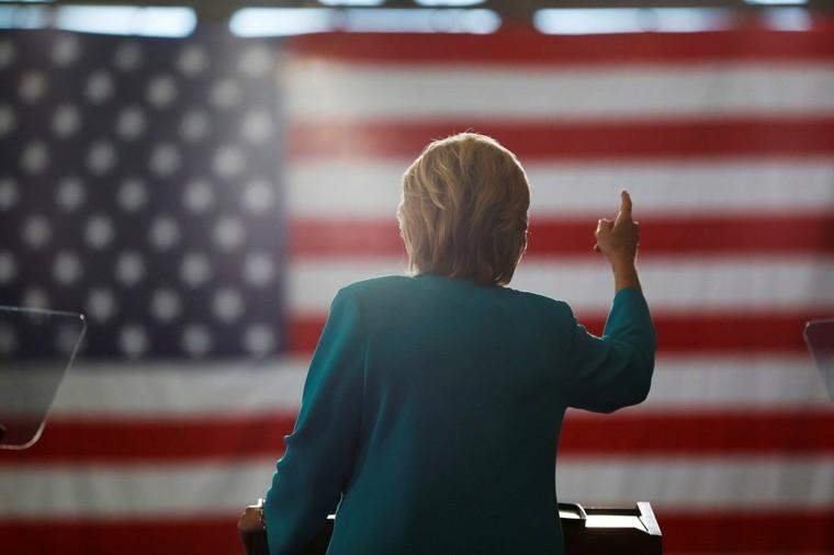 Voter pour Hillary Clinton, c'est voter pour la guerre. Point final
