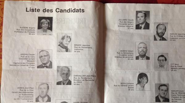 Brigitte Macron a fait ses premiers pas en politique... en Alsace - France 3 Grand Est
