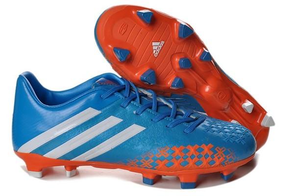 premium selection 71ae6 00c71 2013 Fotbollsskor adidas Predator LZ Gen TRX FG Blå Vit Orange - 684.73NOK    Billige Fotballsko Nike Mercurial FotballSko Adidas F50  Fotballsko Fotball ...