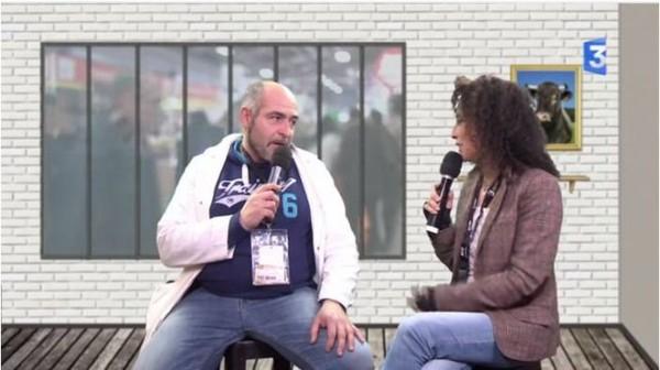 SIA 2016 : Tonio, éleveur de poules allemandes et fier comme un coq ! - France 3 Régions