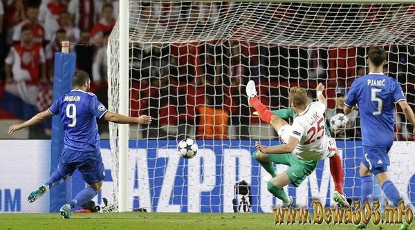 Hasil Pertandingan Liga Champions AS Monaco vs Juventus