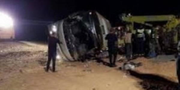 Neuf morts et 45 blessés dans un accident d'autocar entre Fès et Sidi Kacem