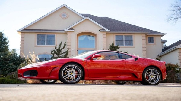 Donald Trump's 2007 Ferrari F430 F1 up for auction