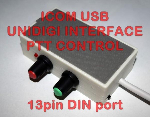 ICOM Digi Interface with PTT - PSK,PSK31,FT8,SSTV / IC-703,706,7000,9100, ++++ | eBay