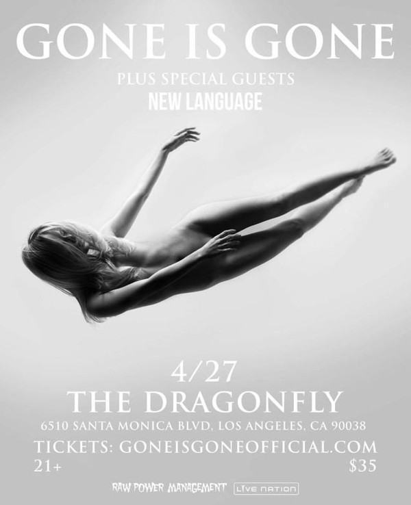 GONE IS GONE Feat. MASTODON, AT THE DRIVE-IN, QUEENS OF THE STONE AGE Members: 'Violescent' Song Streaming