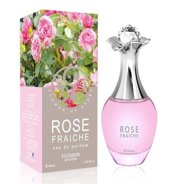 Parfums de ROSE en verre 40ML