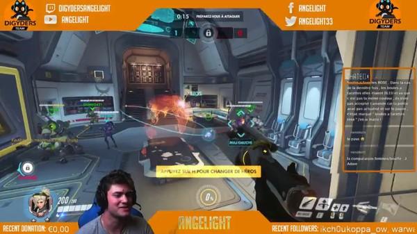 Angelight fait son Overwatch en mode scrim - YouTube Gaming