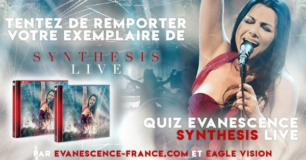 Concours Evanescence France x Eagle Vision !