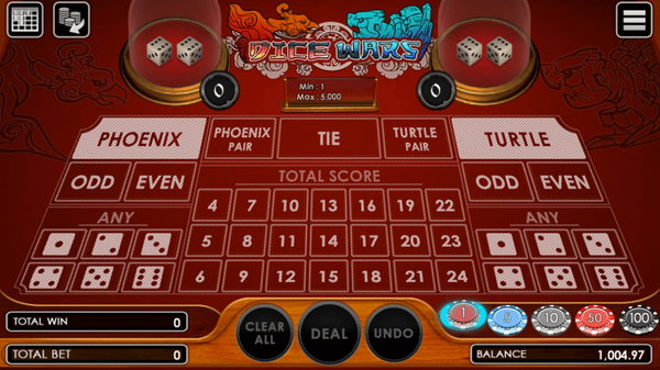 Situs Game Judi Dadu Dice Wars Terbaru SBOBET Online