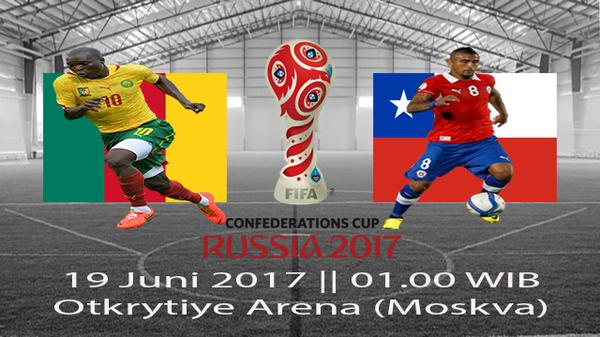 Prediksi Kamerun vs Chile 19 Juni 2017