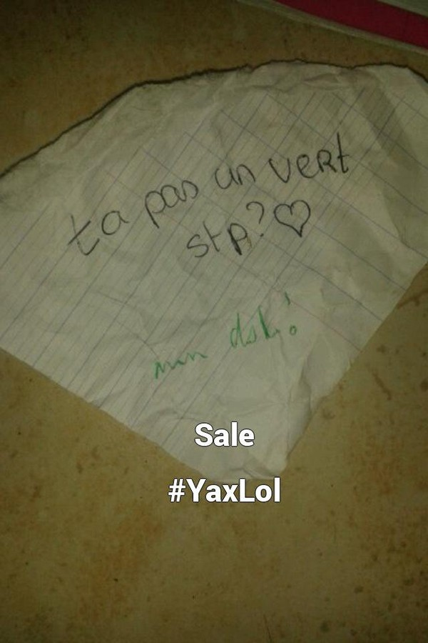 Sale  #YaxLol...