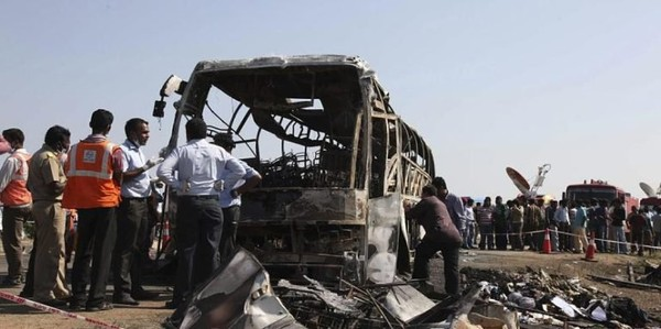 20 minutes - 44 morts dans un accident de bus - Monde