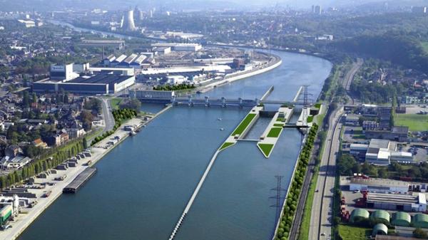 La nouvelle écluse d'Yvoz-Ramet a été inaugurée