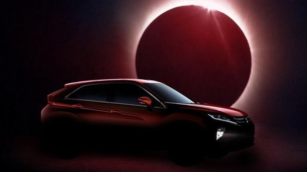 The 2017 Mitsubishi Eclipse Cross gets teased ahead Geneva Motor Show