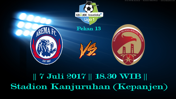 Prediksi Arema vs Sriwijaya 7 July 2017 Liga Indonesia