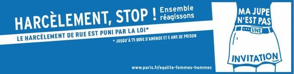 Stop au harcèlement de rue