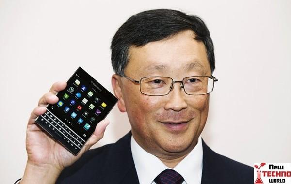 Blackberry passport to a better future