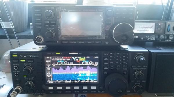 ICOM IC-7300 – Er ist da!!! (Der erste Eindruck) – DM2RM – German Amateur Radio Station