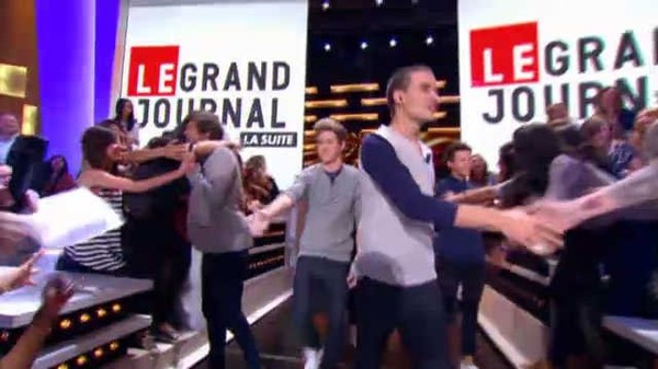 LE GRAND JOURNAL du 16/10/12 - La Suite avec One Direction