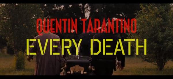 Vidéo: toutes les morts des films de Quentin Tarantino en quatre minutes
