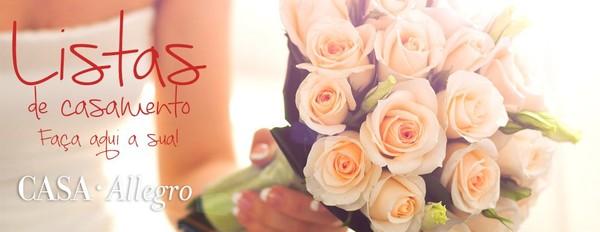 Lista de Casamento | Casa Allegro - Presentes para Noivos