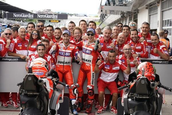 Andrea Dovizioso Dan Ducati Mempunyai Satu Kelarasan