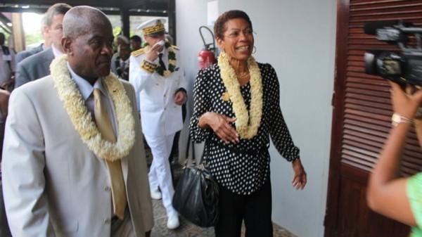 Une alerte attentat a menacé la visite de George Pau-Langevin, à Mayotte - outre-mer 1ère