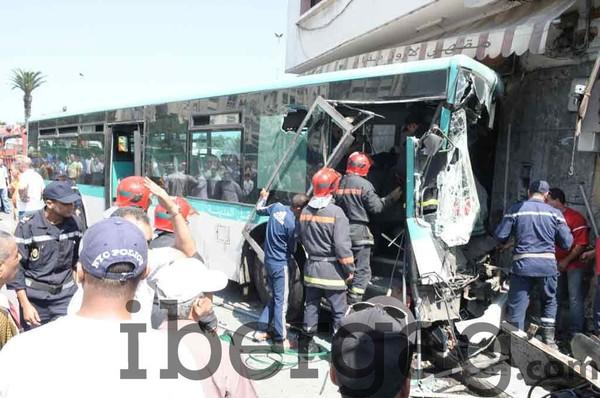 Accident : Un bus fonce tout droit dans un café faisons plusieurs blessés - IBERGAG
