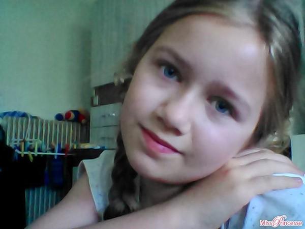 Lindsay sur Miss Princesse