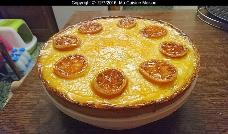 tarte aux citrons (recette mooc afpa) - blog de ma-cuisine-maison