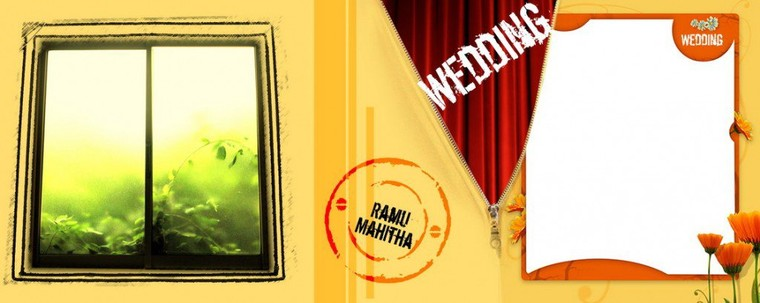 PSD Background Wedding Couple Special Karizma Page Free Download