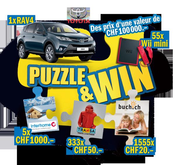 Emmi Aktifit - Puzzle and Win: Compléter le puzzle et gagner