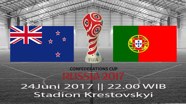 Prediksi Selandia Baru vs Portugal 24 Juni 2017, Piala Konfederasi 2017