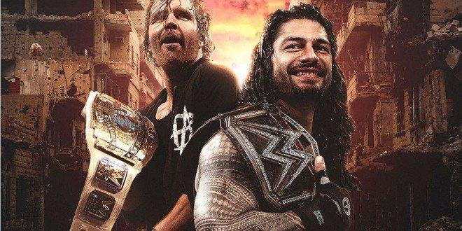 Dean Ambrose And Roman Reigns Ambwallpapers