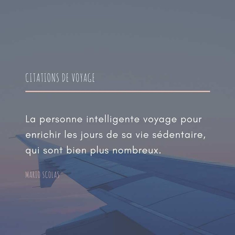 La personne intelligente voyage  - LNO