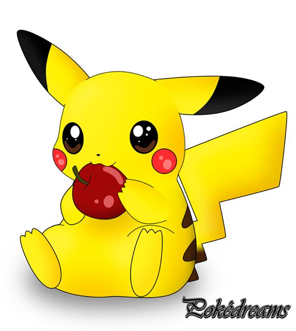 Pikachu Mignon Pokedreams