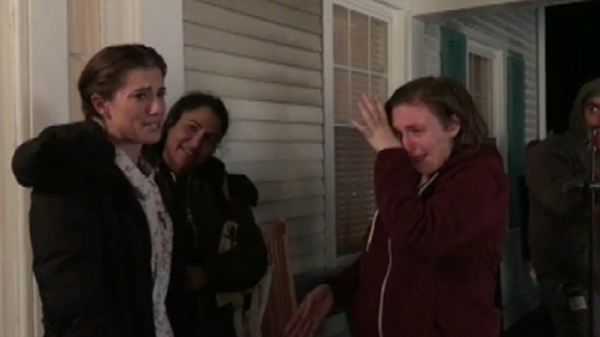 EXCLUSIVE: Go Behind the Scenes of Lena Dunham and 'Girls' Cast's Emotional Last Days on Set