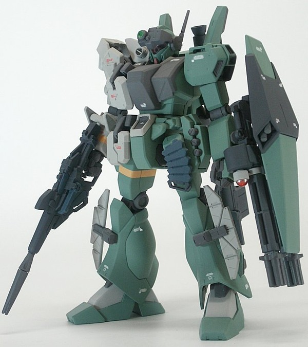 Custom built HGUC 1/144 Jegan with Beam Magnum.... - Superficial Internet Complex